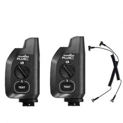 PocketWizard Plus X Auto-Sensing Power Transceiver 2 Pack PW-PLUSX-FCC-2