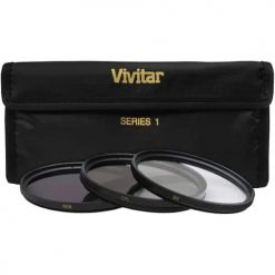 Vivitar 43mm 3-Piece Multi Coated Filter Kit UV, CP & FLD Filter