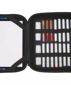 Itoya Art Profolio Marker Pad Carrier, Removable Stand-Up Holder, 19 X 24 inches, Black (MP-1924)