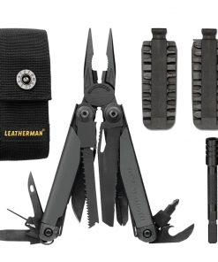Leatherman Surge Multi-Tool 831024 With Premium Leather Sheath Includes 42-Bits and Bit Extender