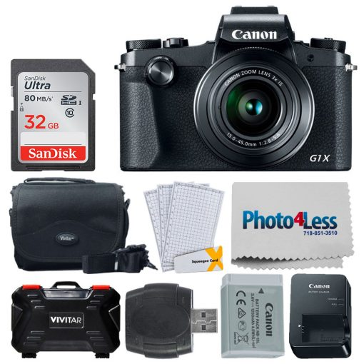 Canon PowerShot G1 X Mark III Digital Camera – Wi-Fi Enabled