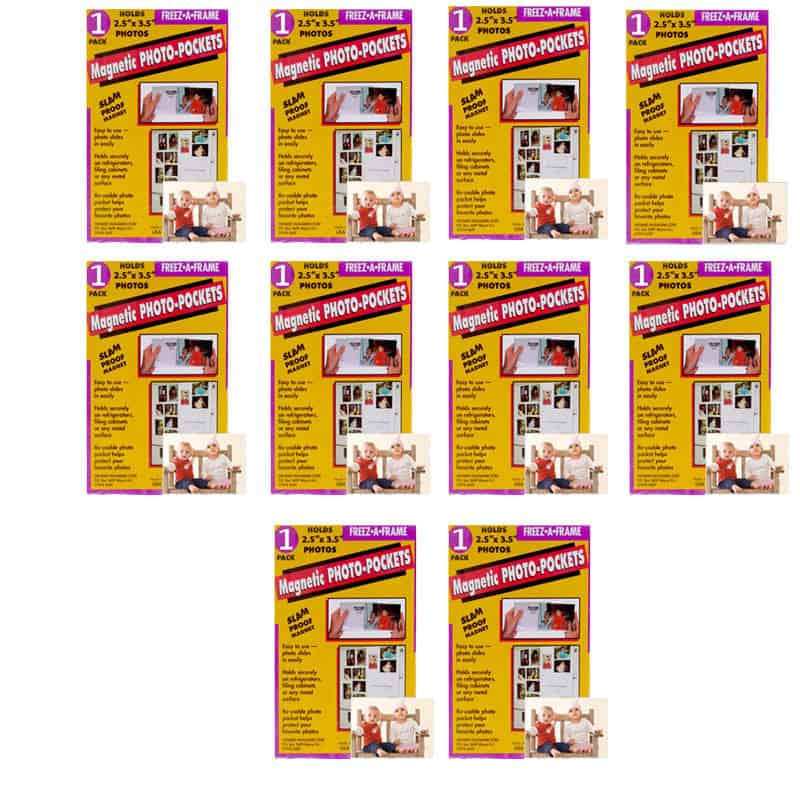 Photo4less Clear Magnetic Picture Frames For Refrigerator 25 X