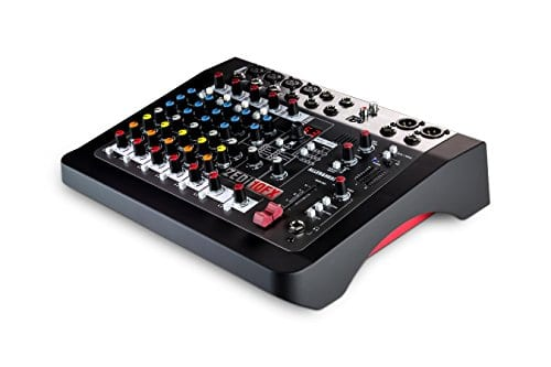 Allen & Heath ZEDi-10FX Compact Hybrid Mixer/USB Interface + Gator Cases G-MIXERBAG + Headphone + XLR Mic Cable + Instrument Cable & Stereo Cable