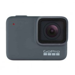 GoPro HERO7 Silver — Waterproof Digital Action Camera with Touch Screen 4K HD Video 10MP Photos