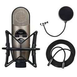 CAD M179 Variable-Pattern Condenser Mic with Shockmount + Pop Filter 6 + 25' XLR Cable