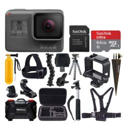 GoPro HERO6 Black Accessory Bundle