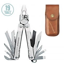 Leatherman 832559  Super Tool 300 Heritage Multi-Tool with Leather Sheath