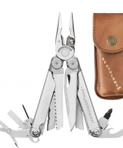 Leatherman 832556  Wave Plus  Heritage Multi-Tool and Leather Sheath