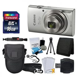 Canon PowerShot ELPH 180 Digital Camera + Deluxe Accessory Kit