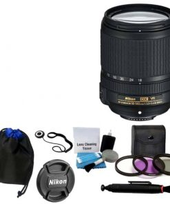 Nikon 18-140mm VR AF-S DX NIKKOR Zoom Lens + UV Filter Kit Lens Pen Bundle