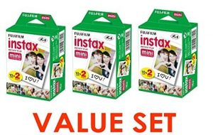 Fujifilm Instax Mini Instant Film (3 Twin Packs, 60 Total Pictures)