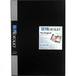 Itoya Art Portfolio 13 x 19 inches Storage Display Book, 24 Sleeves for 48 Views IA-12-13