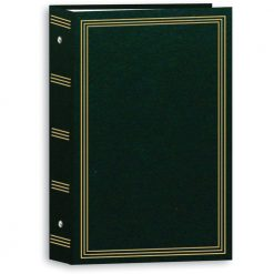 "Pioneer Photo Album 4""X6"", 3-Up, 504 Photos Pocket 3-Ring Binder Album Hunter Green (STC504/HG)"