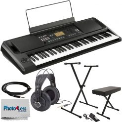 KORG EK50 Entertainer Keyboard With Built in Speakers + Accessories
