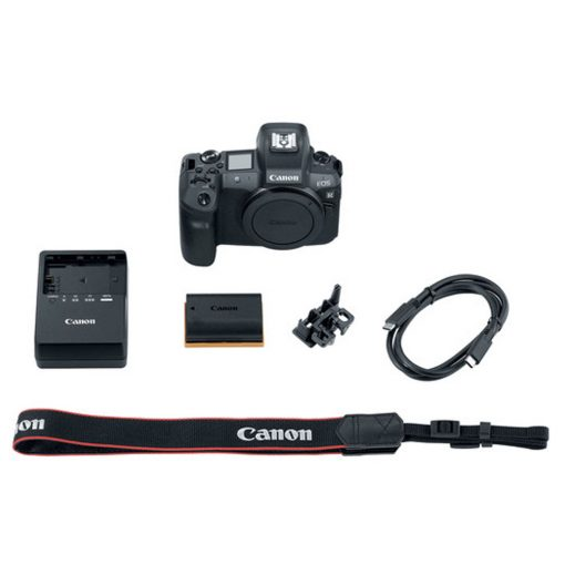 Canon EOS R Mirrorless Digital Camera (Body) Plus Accessories
