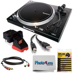 Numark Professional High-Torque Direct Drive Turntable + Accessories