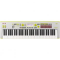 Korg Kross 2-61 Synthesizer Workstation - Neon Green/Gray Limited Edition