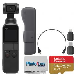 DJI Osmo Pocket Gimbal & 4K Camera + Accessories Kit