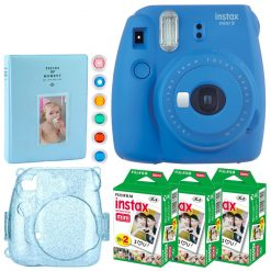 Fujifilm Instax Mini 9 Instant Camera - Full Accessory Bundle