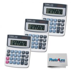 Canon LS-82Z Handheld Calculator (3 Pack) + Cleaning Cloth