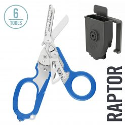 Leatherman Raptor Emergency Medical Shears & Multitool, Blue with Utility Holster