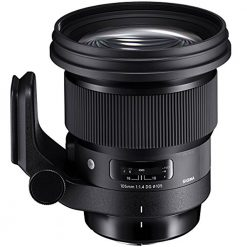 Sigma 259965 105mm f/1.4-16 Standard Fixed Prime Camera Lens, Black(Sony)