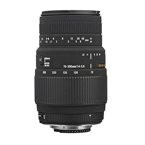 Sigma 70-300mm f/4-5.6 DG Macro Autofocus Lens (with built-in motor) for Nikon AF (5A9306)