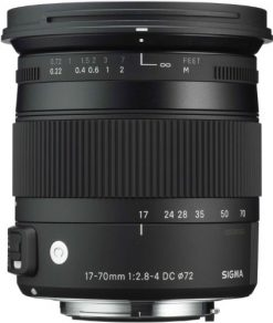 Sigma 17-70mm f/2.8-4 DC Macro OS HSM Lens for Nikon (884306)