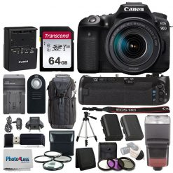 Canon EOS 90D DSLR Camera with 18-135mm Lens + Accessories
