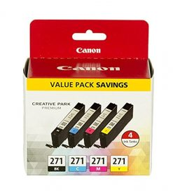 Canon CLI-271 Value Ink Pack for, MG7720, MG6820, MG5720, TS9020, TS8020, TS6020, TS5020 Printers