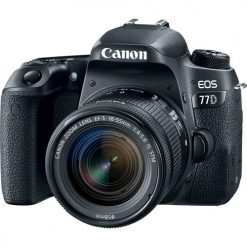 Canon EOS 77D Digital SLR Camera + 18-55mm IS STM Lens