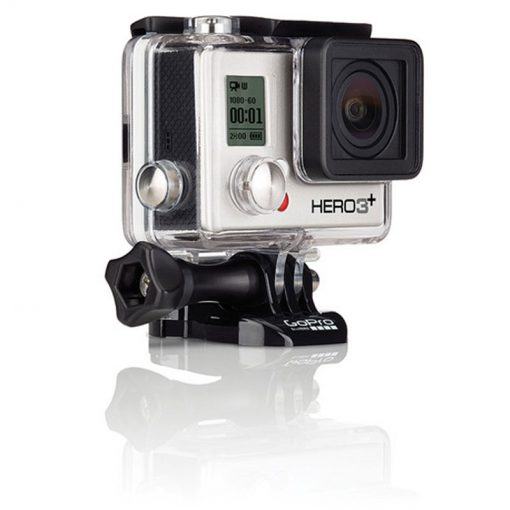 GoPro HERO3+ Silver Edition Camera HD Camcorder + Extra GoPro Rechargeable Battery GoPro Dual Battery Charge + 6 FT HDMI Cable + Gripster III Flexible With 64GB MicroSDXC Class10 And Much More Complete Deluxe Accessory Bundle