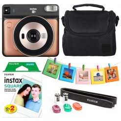 Instax Square SQ6 Instant Film Camera-Blush Gold Kit