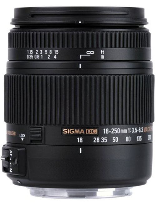 Sigma 18-250mm F3.5-6.3 DC Macro OS HSM Lens for Nikon F Mount(883306)