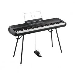 Korg SP-280 Portable Digital Piano (Black)