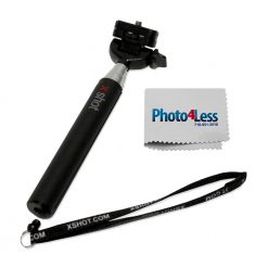 "XShot Pocket 30.5"" Camera Extender + Photo4less Cleaning Cloth"