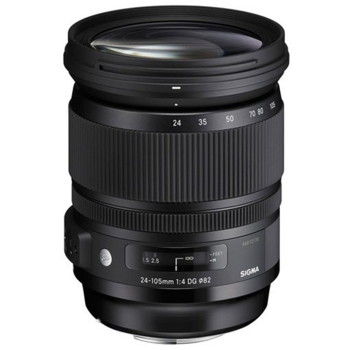Sigma 24-105mm f/4 DG OS HSM Art Lens for Canon EF(635101)