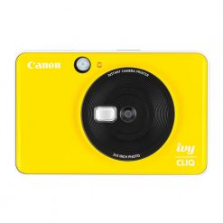 Canon Ivy CLIQ Instant Camera Printer Mobile Mini Printe, Bumblebee Yellow
