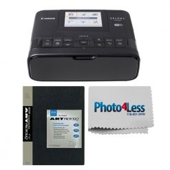 Canon SELPHY CP1300 Compact Photo Printer (Black) + Photo Album