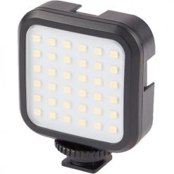 Vivitar Hot Shoe Rechargeable LED Video Light for Cameras