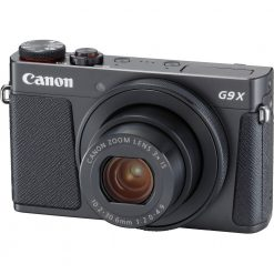 New Canon PowerShot G9 X Mark II Digital Camera (Black)