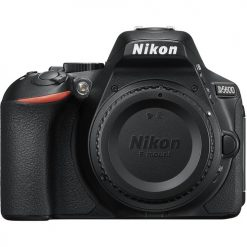 New Nikon D5600 24.2 MP DX-Format CMOS Digital SLR Camera Body (Black)