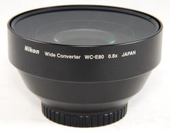 Nikon WC-E80 Wide Angle Converter Lens for Select Coolpix Cameras (25106)