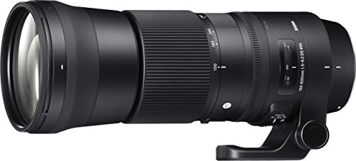 Sigma 150-600mm f/5.0-6.3 for Canon EF Cameras 150-600mm Medium-Telephoto-Lens Fixed Zoom(745101)