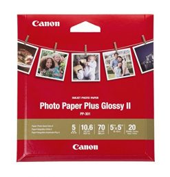 "Canon Photo Paper Plus Glossy II (5 x 5"")"