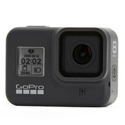 GoPro HERO8 Black Action Camera + GoPro Dual Battery Charger & Batteries + SanDisk Extreme 128GB microSDXC Memory Card & More!