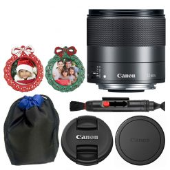 Canon EF-M 32mm f/1.4 STM Lens + 4.5 Lens Pouch + Wreath Photo Frames + Pen
