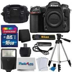 Nikon D500 Digital SLR Camera 20.9MP DX-Format Body + Complete Accessory Bundle