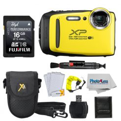 Fujifilm XP140 Yellow Bundle W/ SD Card
