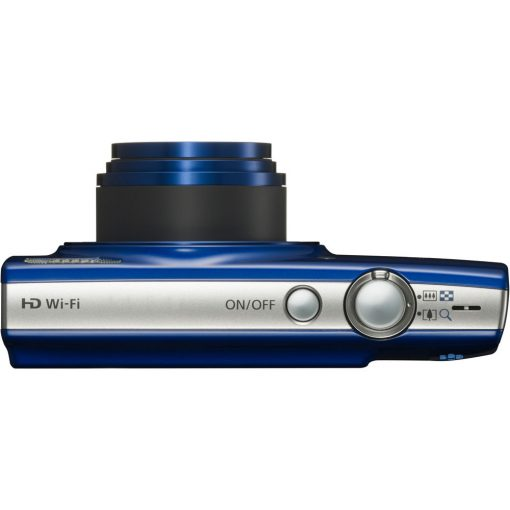 Canon PowerShot ELPH 190 IS (Blue) with 10x Optical Zoom + 32GB Memory Card